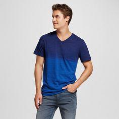 Men's V-Neck T-Shirt Navy XL - Mossimo Supply Co., Stargaze Navy