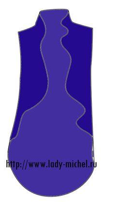 Простые выкройки – жилет для весны, осени и лета - Шьем для женщин - Выкройки для женщин и мужчин - Каталог статей - Выкройки для детей, детская мода