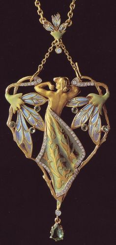Spanish jewelry in Art Nouveau style. Luis Masriera (1872-1958) | Entries AYAT (Art) | UOL
