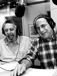 """Tom and Ray Magliozzi, the hosts of Car Talk  on NPR, are better known as ""Click and Clack, the Tappet Brothers"" — taking their names from the clickety-clack sound made by aging autos. Tom, 71, and Ray, 59, dispense car advice in the broad accents of the tough East Cambridge neighborhood where they grew up. Both are graduates of the Massachusetts Institute of Technology."""