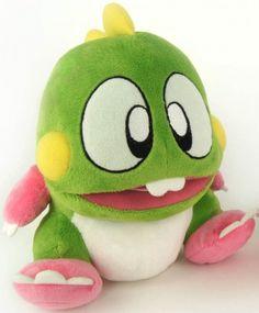 Plüschfigur Bubble Bobble mit Sound sortiert Games Games Merchandise…