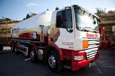 Crown Oil - derv - Road Diesel Supplier - Here's one of our oil tankers!