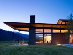 "Peaks View Residence by Carney Logan Burke - #HouseoftheDay - Letter ""P"" - #AlphabetofHouses"