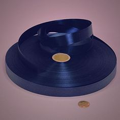 3/4' X 250 YDS NAVY POLY-SATIN RIBBON >>> Find out more about the great product at the image link.