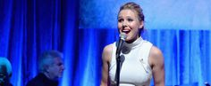 """Kristen Bell sings songs from """"Frozen"""" live. Do you know which song from the movie won an Oscar this year?"""
