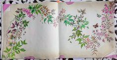 Pergaminho  Livro: Jardim Secreto  Tutorial de Lelé das Ideias