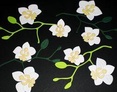 Orchideen+-+Blüten+-+Stanzteile+für+Scrapbooking+von+BiCoSu-inspiration+auf+DaWanda.com