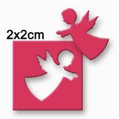 Großer Motivlocher Stanzer Punch 2,5 cm Angel Engel Kreativ Basteln Dekorieren