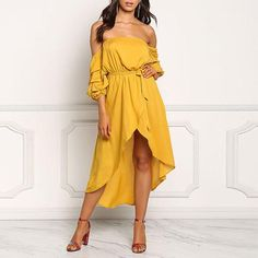 Elegant Off Shoulder Plain Belt Casual Dress Enjoy Linen Dresses summer Free Shipping $59+ & Easy Return. Up to 80% Off. First Order   5% Off Code:EB5F Casual Dresses for women casual dresses for summer casual dresses modest casual dresses boho casual dresses for work #CasualDresses #CasualDresses #casualdressesforsummer #casualdressesforschool   #casualdressesforteens #businesscasualdresses #casualdressesforwork #cutecasualdresses   #casualdressesoutfit #casualdresseskneelength