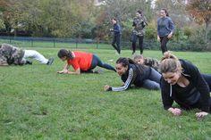 #boostbirhakeim - Qui arrivera la première - Boot Camp du 16/11 - @bbirhakeim