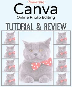 Tutorial & Review of Canva, the New Photo Editing Site