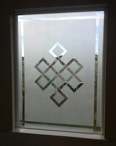 frosted glass window diy