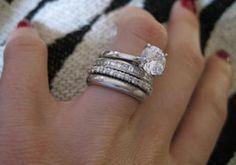 Sears Wedding Band 43 Marvelous Multi band wedding ring