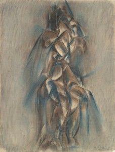 Art - Dadism - Drawing - Max Weber 1913