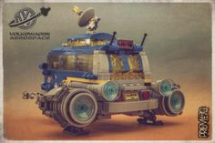 VW Space Bulli - rear view