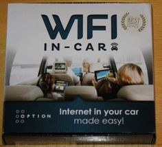 WiFi in Car + Internet im Auto + 3G WiFi + neu +