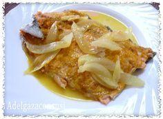 Recetas Light - Adelgazaconsusi: Trucha al curry con cebolla y en microondas