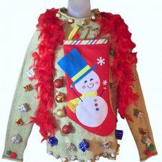 Custom Christmas Sweaters | Real Ugly Christmas Sweaters