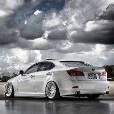 Slammed Lexus ISF - White on white. Lexus Cars, Jdm Cars, Lexus Auto, Lexus Sport, Lexus Is250, Infiniti Q50, Jaguar Xe, Volvo S60, Aichi