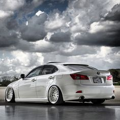 Slammed Lexus ISF - From: StanceNation