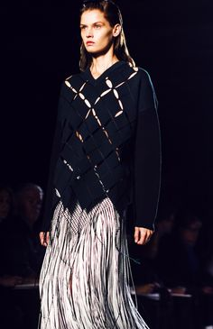 Those to-die-for-final-fringe-y looks? Totally what we'll wear to shake it at The Boom Boom Room. http://www.thecoveteur.com/proenza-schouler-spring-2015/