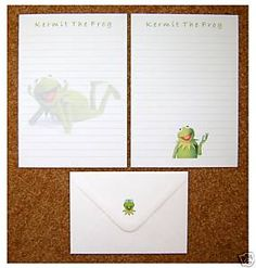 Muppets Kermit The Frog Stationery
