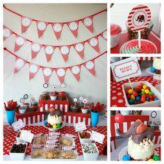Circus Birthday Decorations