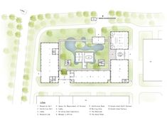 Image 30 of 37 from gallery of Xinsu Group R&D Center / Minax Architects. Image 30, Floor Plans, Architects, How To Plan, Gallery, Group, Roof Rack, Building Homes, Floor Plan Drawing