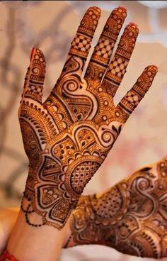 Henna Hand Designs, Mehndi Designs Finger, Simple Arabic Mehndi Designs, Legs Mehndi Design, Full Hand Mehndi Designs, Stylish Mehndi Designs, Mehndi Designs 2018, Mehndi Designs For Beginners, Mehndi Designs For Girls