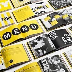 grayscale, yellow, large font, large photo, monotone photo, bi-fold, booklet, brochure set, inside, square format, marketing, design, photography, fine arts, multiple, modern, original, promotional brochure design inspiration