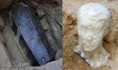 8.7-Feet Long Sarcophagus Discovered In Egypt May Contain A Giant From The Past