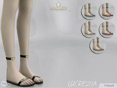Sims 4 CC's - The Best: MJ95's Madlen Lucrezia Shoes