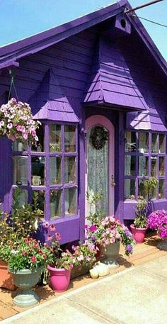 free garden design, inspiration it's not just about the plants new 2019 - page 19 of 53 - stunnerwoman. com Interior design; Garden interior design home decor; Shades Of Purple, Deep Purple, Pink Purple, Periwinkle, Purple Home, Color Lila, Colour, Pink Color, All Things Purple