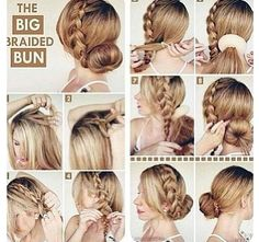 Superb 1000 Images About Sock Bun Hairstyles On Pinterest Sock Buns Hairstyles For Women Draintrainus