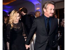 Madonna Tells Sean Penn, 'I Love You' as They Arrive Together, Hold Hands at His Charity Gala  Madonna, Sean Penn