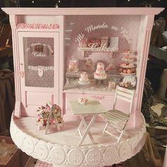 2017.11 Miniature Cakes Shop ♡ ♡ By Mi Mundo en Rosa