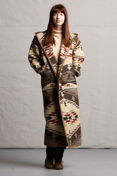 Reversible Long Coat, Spirit of The People_1