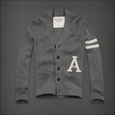 Abercrombie & Fitch - Shop Official Site - Mens - Sweaters - Cardigans - Indian Pass