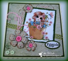My Besties UK Challenge: My Besties UK Challenge - Anything Goes & Buttons
