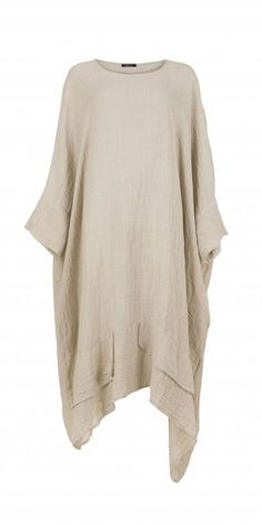 Idaretobe.com Natural Linen Dress