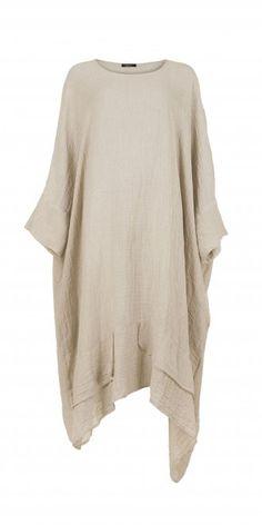 Idaretobe.com Natural Linen Dress