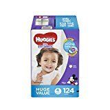 #9: HUGGIES Little Movers Diapers Size 4 124 Count