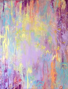 Wisteria in Radiant Orchid Modern Art