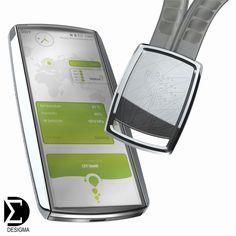 Original Concept, Design Management   Nokia Eco Sensor Concept 2