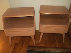 Haywood Wakefield night stands by MoreHouse13 on Etsy, $300.00