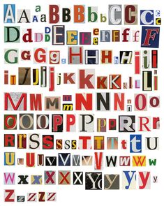 Alphabet Cut Out Letters Best Of Colorful Newspaper Magazine Alphabet Stock Image Image Carta Collage, Letter Collage, Photo Wall Collage, Collage Art, Collages, Indie Room, Journal Stickers, Aesthetic Stickers, Magazine Collage