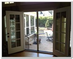 French Patio Doors Screens