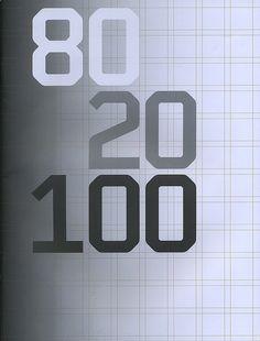 80 20 100: Wim Crouwel