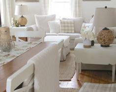 The Long Awaited Home: Decorating for Easter.  White & Wood spring home.
