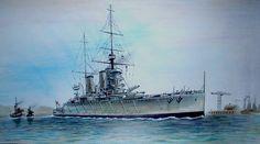 HMS Queen Mary, cortesía de Alan Blair.